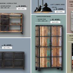 Find et udvalg af Industrielle møbler her online